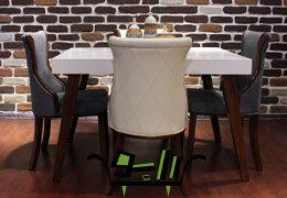 میز ناهارخوری ۴ نفره لوکاس