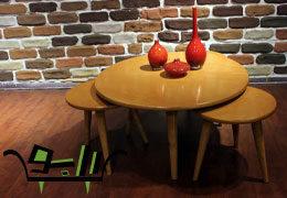 میز جلو مبلی و عسلی مدل سندرا
